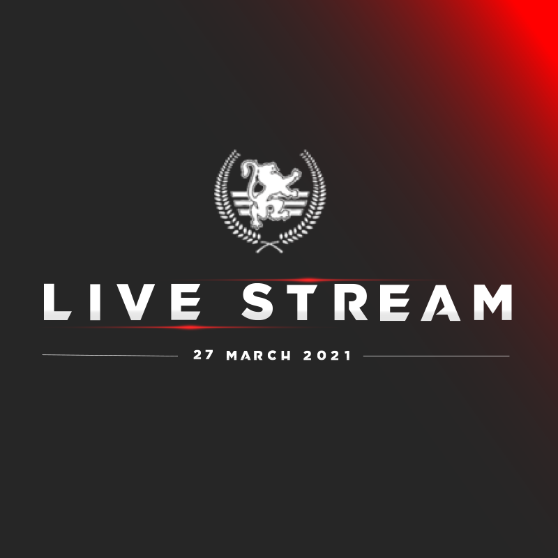 CGA CHAMPIONSHIPS -27TH MARCH 2021- PAY PER STREAM